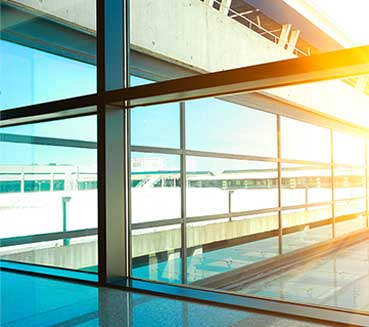 commercial glass repair services